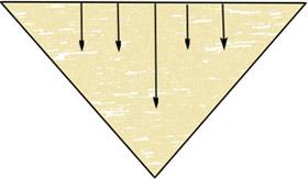 Шали треугольной формы